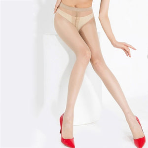 Large Size Tights Plus Size Summer Thin Anti-hook Tear Resistant Super Elastic Magical Crotch Seamless Pantyhose Lady