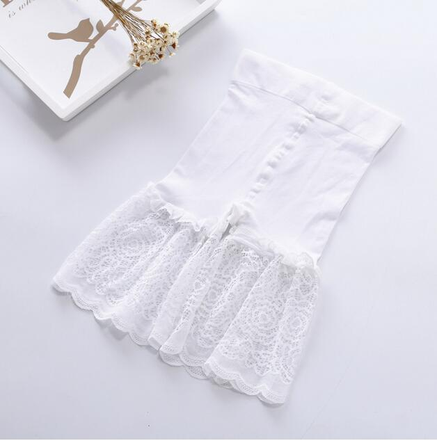 2PCS High Waist Safety Short Pants Soft Body Slim Underwear Knickers Sexy Lace Shorts Under Skirt Casual Summer Panties Boyshort