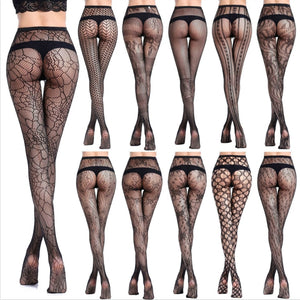 New generation of fishnet stockings sexy stockings bottoming pantyhose fishnet eye Jacquard fishnet stockings mesh pants