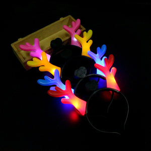 hairlights Headbands Party Light Up Flashing Blinking Party Wear Christmas LED Accessories Glow Concert navidad