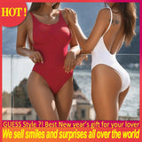 Swimsuit Female 2020 Mujer Sexy Letter Print Bikinis Push up Thong Backless Bathing Swimming Suit WomenOne Piece Swimsuits