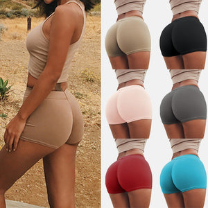 Women Safety Shorts Pants Seamless Elastic Breathable Panties Seamless Anti Emptied Boyshorts Pants Girls Slimming Underwear