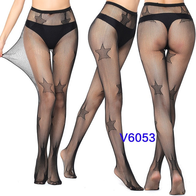 New Arrival Thin Women Pantyhose Sexy Solid Fishnet Tights Clothes For Women Stockings Black Tights Lace Sexy Lingerie