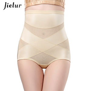Jielur Women Tummy Control Underwear Black Butt Lifter Bodyshaper Breathable Slimming Underpants Sexy Briefs Body Shaping M-XXL