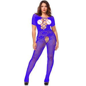 Sexy Lingerie Porno costumes sexy woman Erotic Underwear sexy women bodysuit open crotch bodystocking plus size lenceria mujer