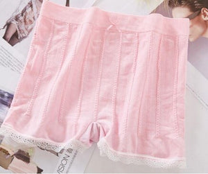 Short pants women Cute seamless shorts High Waist safety shorts boxer femme under skirt boyshorts women underwear short