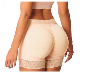 Underwear Safety Short Pants Women Lady Female Plus Size XXXL HOT Padded Bum Safety Enhancer Shaper Butt Lifter Booty Boyshorts
