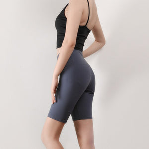 2019 New Yoga Shorts Sexy Soft Short Leggings High Waist Workout Fitness Running Gym Summer Activewear Elastic Sportswear
