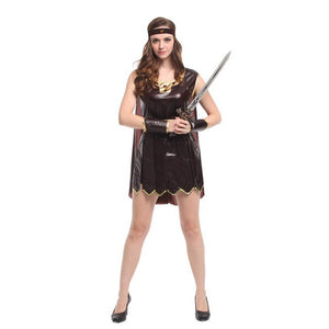 New Sexy Femal warrior Cosplay Halloween Wonder Woman Costumes Carnival Purim Stage performance play Rave party Nightclub dress