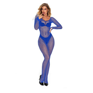 XXXL Black Sexy Bodystockings Women Fishnet Open Crotch catsuit Mesh tights Lingerie Erotic Bodysuit Sleepwear jumpsuit Teddies