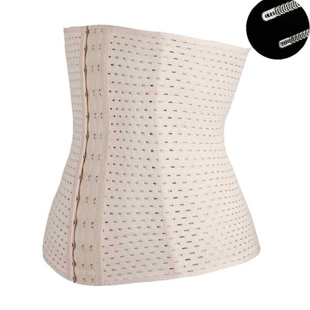 Corset Waist Trainer Corsets Steel Boned Steampunk Sexy Intimates Corselet and Bustiers Waist Trainer Shaper Modeling Strap