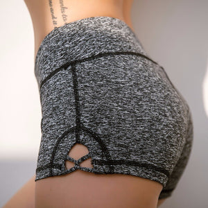 Compression Breathable Women Yoga Shorts Gym Short Slim Fit Pole Short Fitness Workout Elastic Shorts Running Activewear Bottom