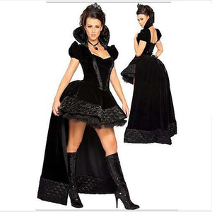 Fairy Tale Princess Role-Playing Black Sexy Dress Masquerade Carnival Queen Halloween Game Uniform Temptation Cosplay Costume