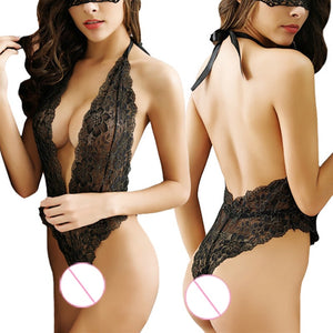 2018 Sexy Lingerie Underwear Women Transparent Push Up Transpa Bra Set Lenceria Femenina Plus Size Bra-set Black Sleepwear
