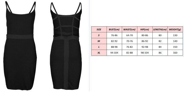 Hirigin Women Sexy Hollow Backless Sling Bodycon Sleeveless Evening Party Short Mini Dress