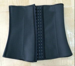 Instyles Waist Cincher Slimming Belt Plus Size Latex Waist Corset Colombian Gird Body Shaper Waist Trainer Cincher Corset XS-6XL