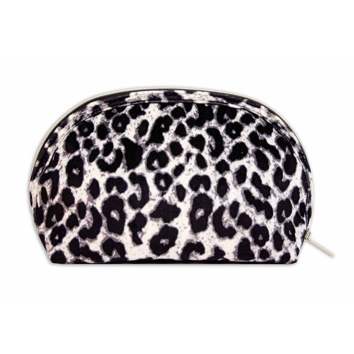 Cosmetic Pouch I Velvet I Animal Print