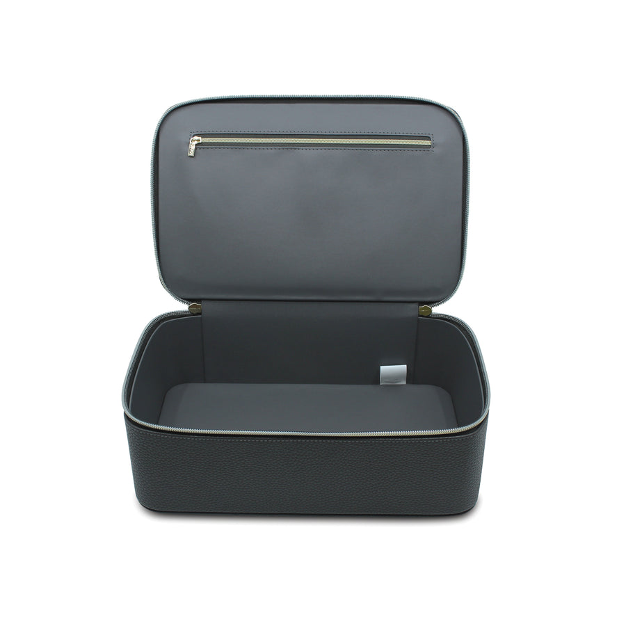 Make-up Case I Vegan Leather I Charcoal