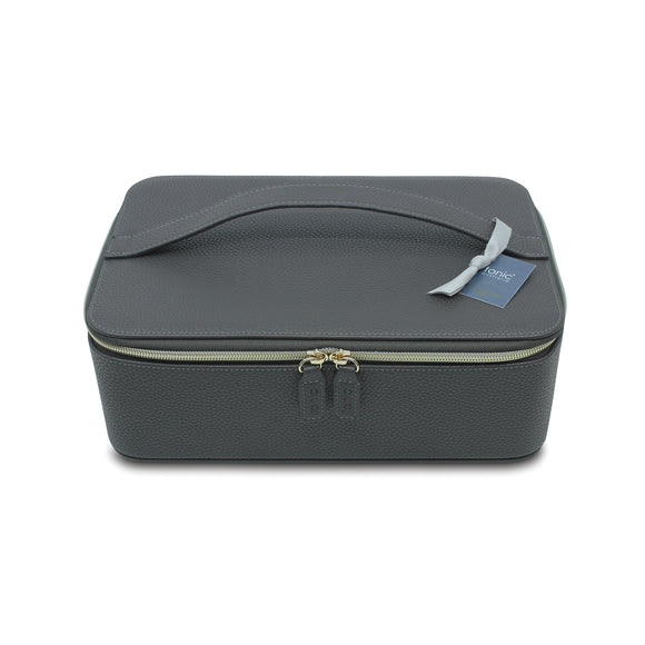 Tonic I Make-up Case I Vegan Leather I Charcoal