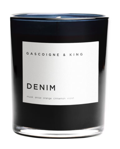 Gascoigne & King I Candle I Denim