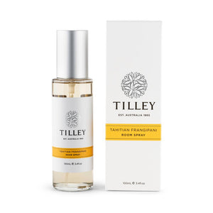 Tilley I Room Spray I Tahitian Frangipani