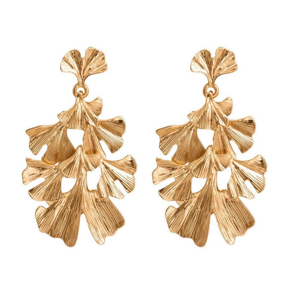 Earrings I Ginko Leaf
