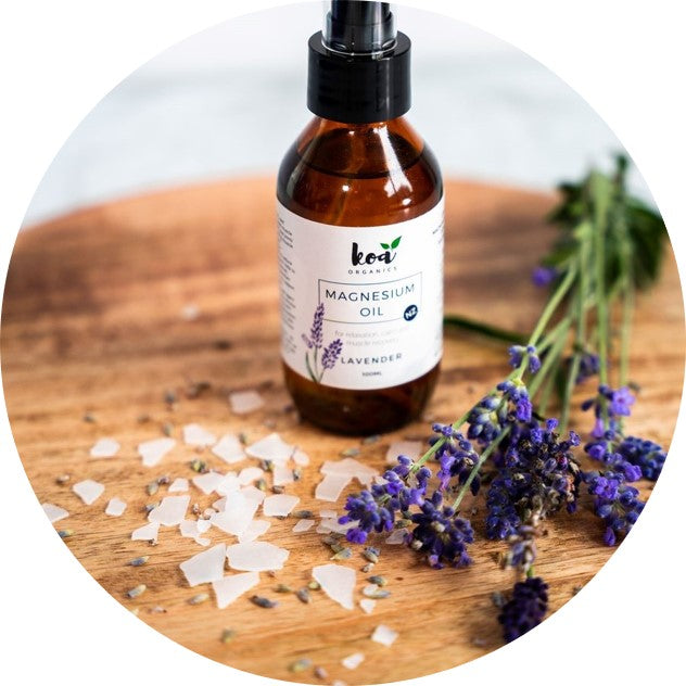 Magnesium Oil with Lavender
