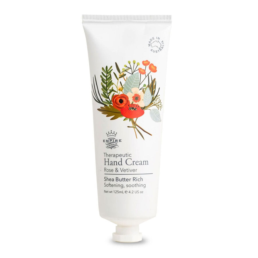 Therapeutic I Hand Cream I Rose & Vetiver - Richie and Co