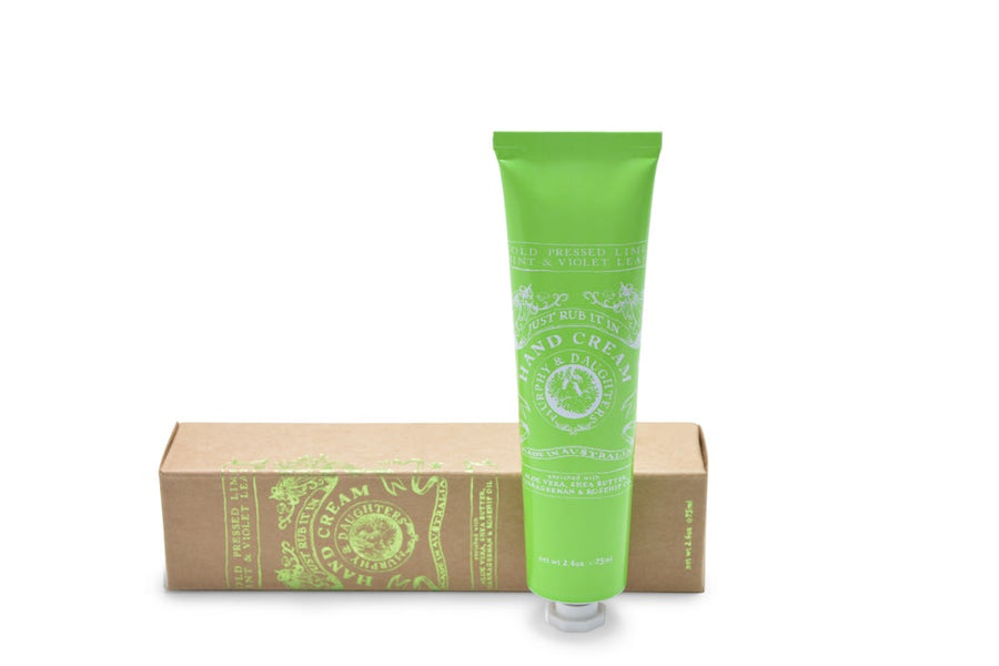 Hand Cream I Cold Pressed Lime, Mint & Violet