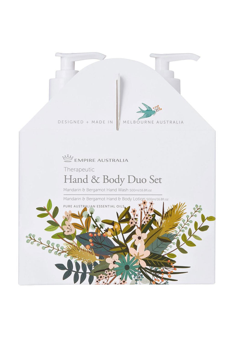 Therapeutic I Hand & Body Care Duo I Mandarin & Bergamot - Richie and Co