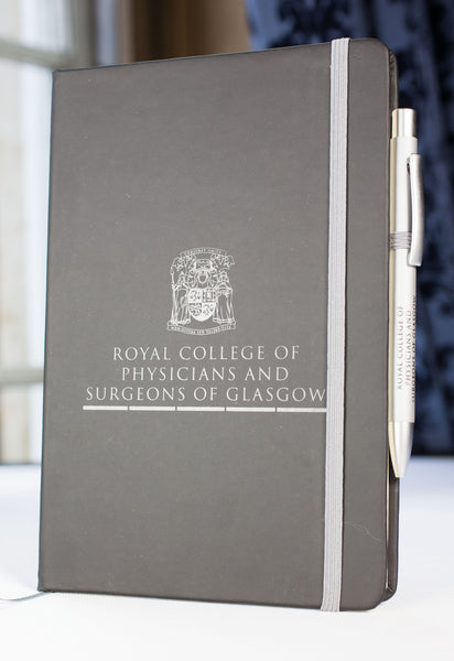 Royal College of Physicians and Surgeons of Glasgow Crested Notepad and Pen