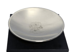 RCPSG Crest Pewter Bowl