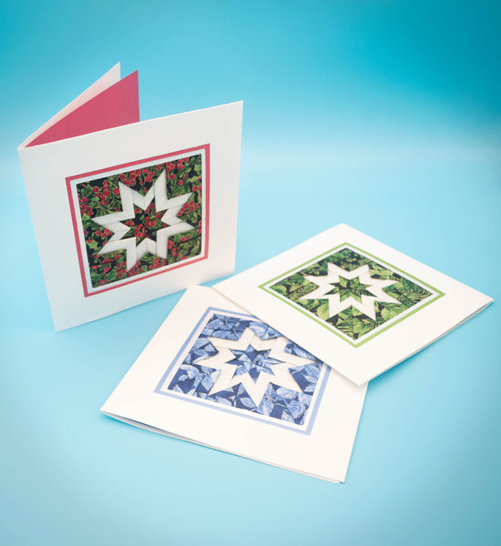 Green, Red or Blue with matching envelopes