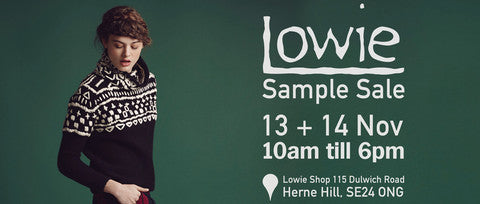 Lowie Winter Sample Sale