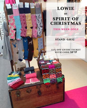 Lowie at Spirit of Christmas 4th - 9th November