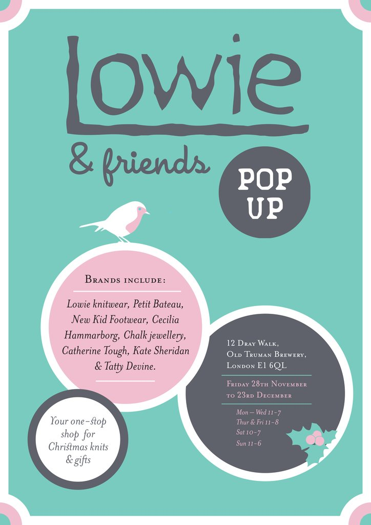 Lowie and Friends Pop-up Shop