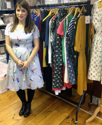 Rachel Khoo in the Lowie Studio