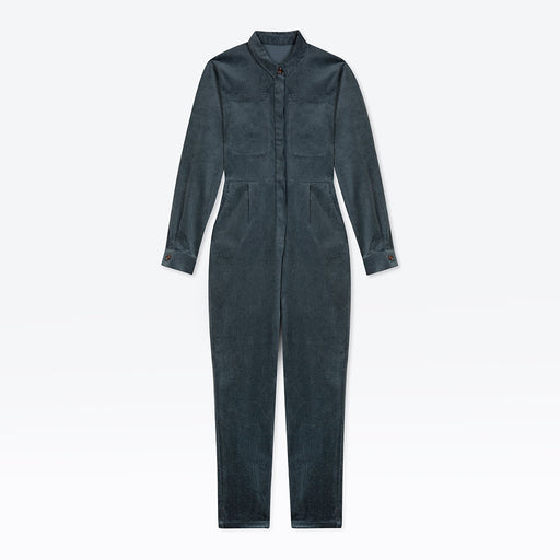 Pre-Order Lowie Slate Corduroy Boilersuit (December Delivery)