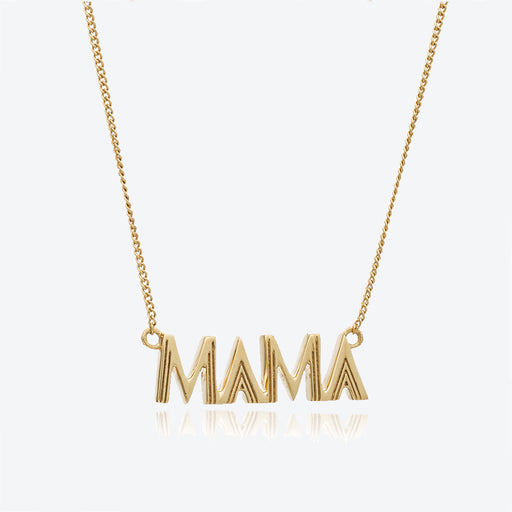 Rachel Jackson Art Deco Mama Necklace
