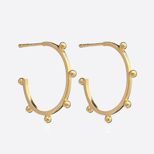 Rachel Jackson Punk Medium Hoops