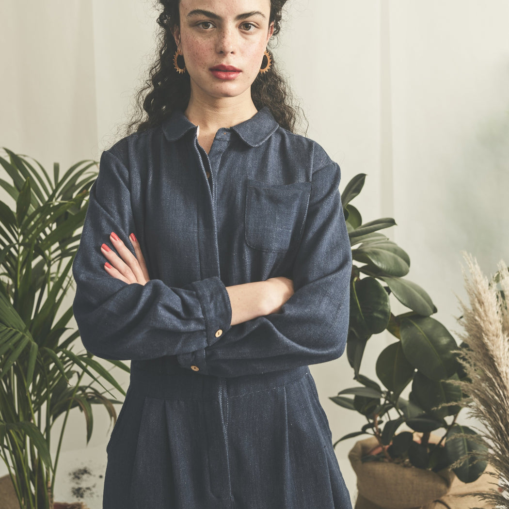 Lowie Organic Denim Boilersuit