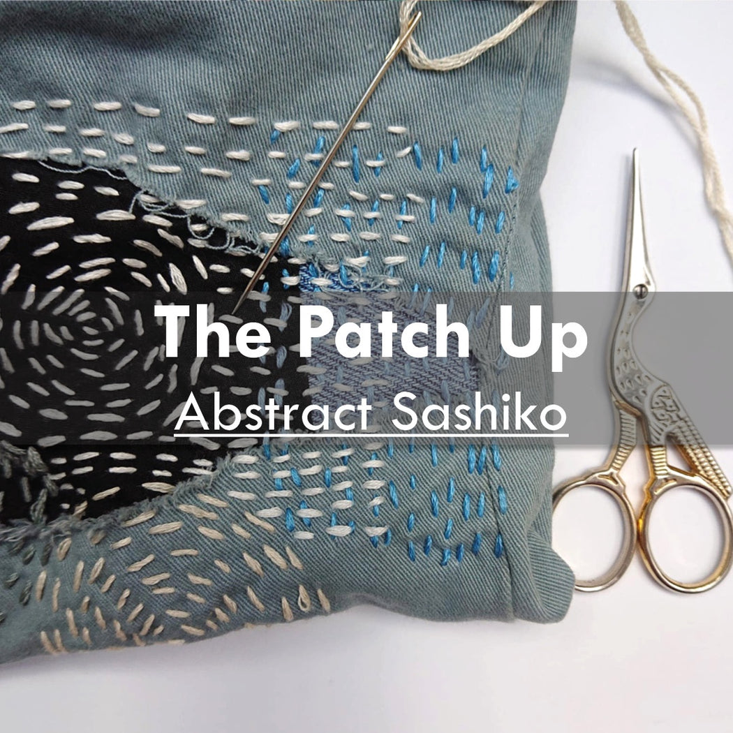 The Patch Up- Abstract Sashiko, 20th May