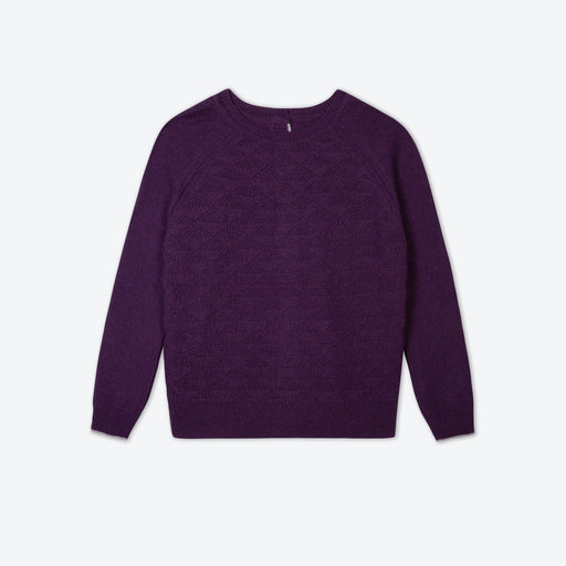 Lowie Aubergine Recycled Cashmere Jumpigan