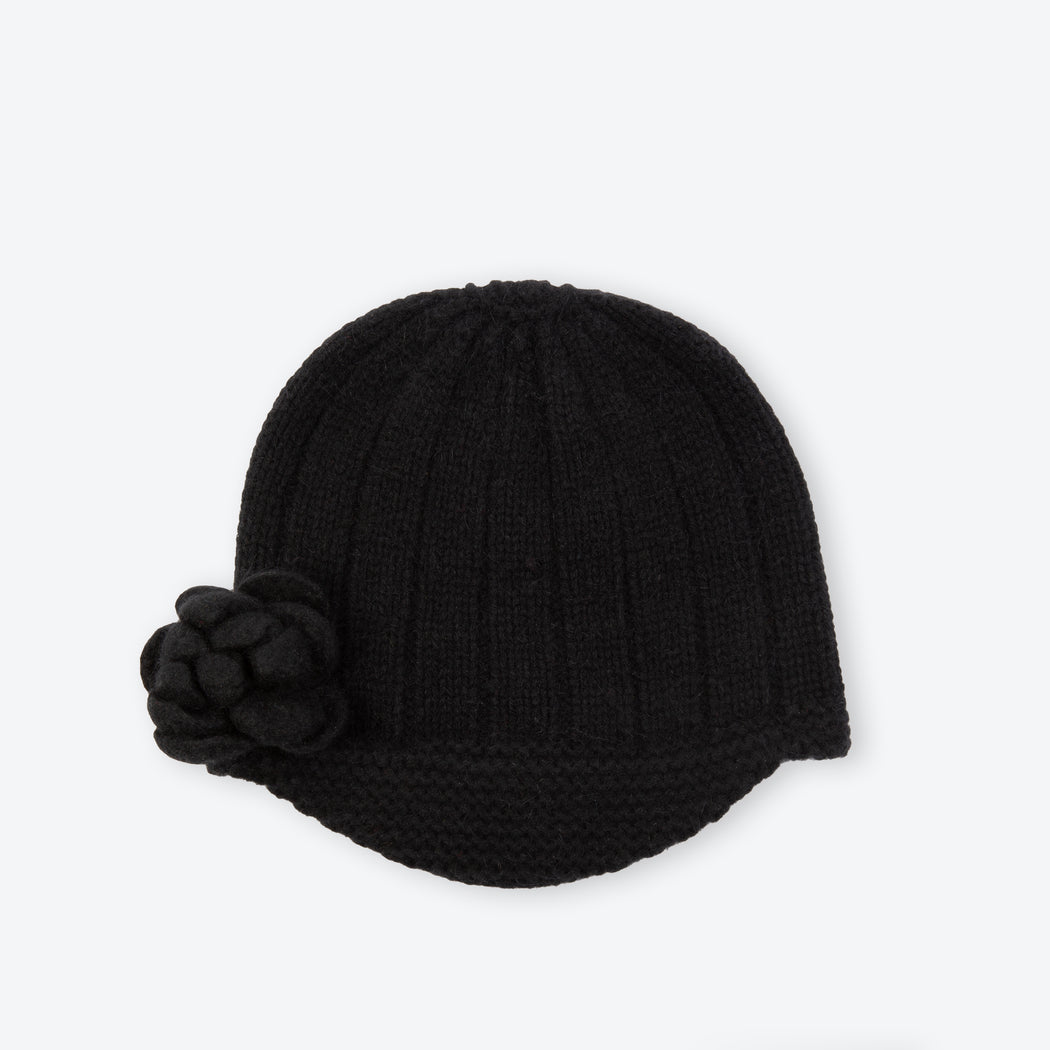 Lowie Black Corsage Riding Hat