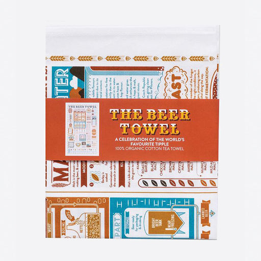 Stuart Gardiner Beer Tea Towel