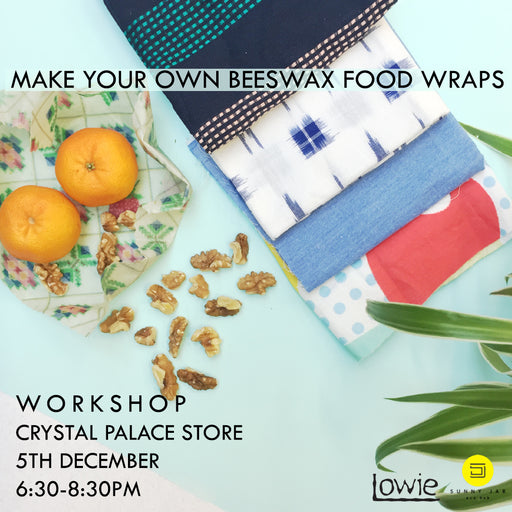Make your own Beeswax Wraps workshop - 5th December 2019