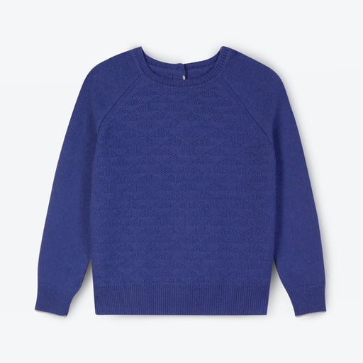 Lowie Marine Blue Recycled Cashmere Jumpigan