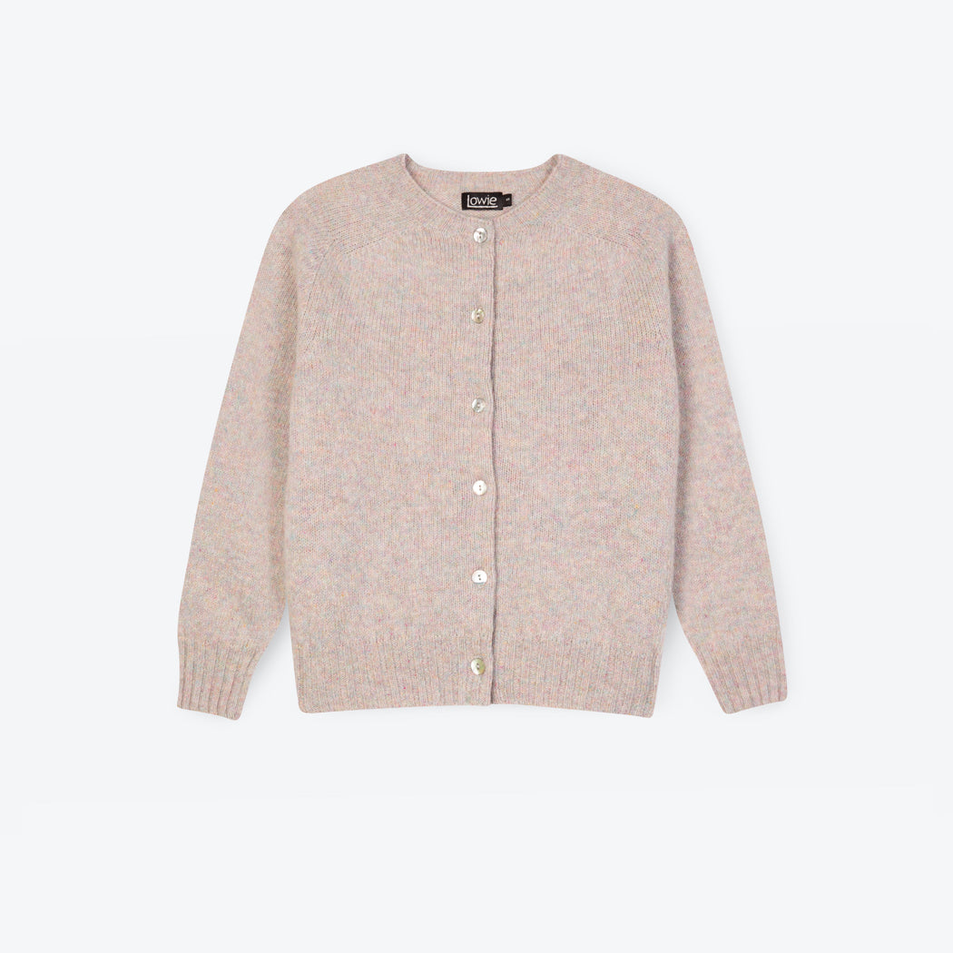 Lowie Ugie Peral Boxy Lambswool Cardigan