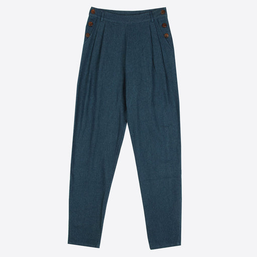 Lowie High Waisted Denim Trousers