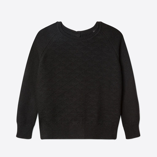 Lowie Black Recycled Cashmere Jumpigan